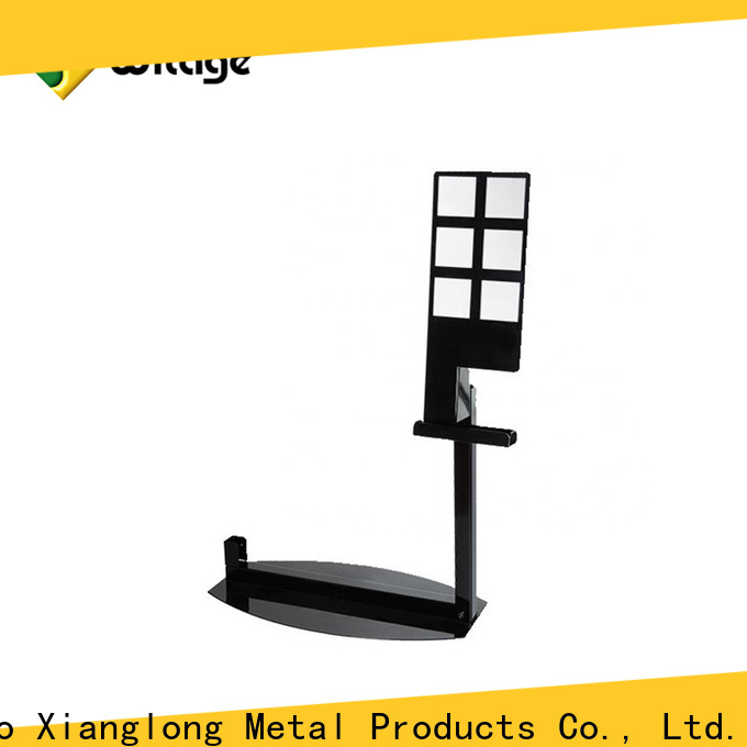 Top metal display stand for business bulk production